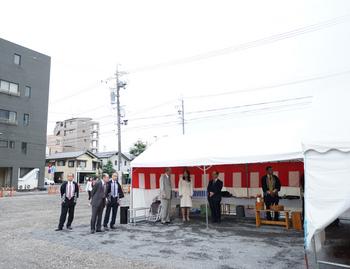 静岡の不妊治療病院 新築地鎮祭
